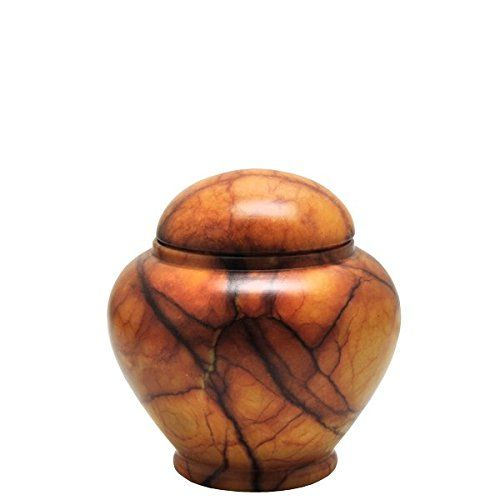 Memorial Gallery ALJ-169-MA Alabaster Stone Grandeur Pet Urn Keepsake ** You can get more details by clicking on the image.