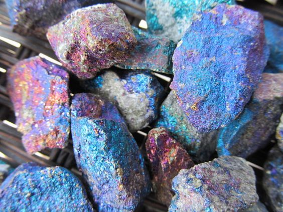 Just to be clear this is an enhanced stone it is natural stone that is oxidized to show its colors. The color on these little guys are amazing,