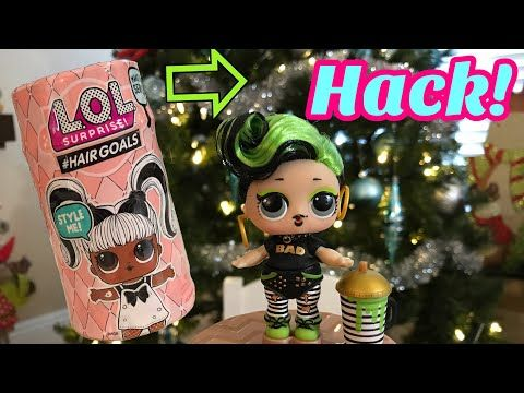 LOL Surprise #HairGoals Bhaddie Doll Series 5 Makeover Hair Goals New ULTRA RARE