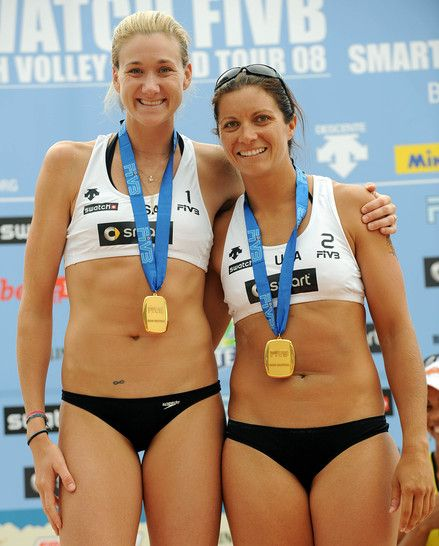 Misty May And Kerri Walsh Beach Volleyball Female Athletes Kerri Walsh