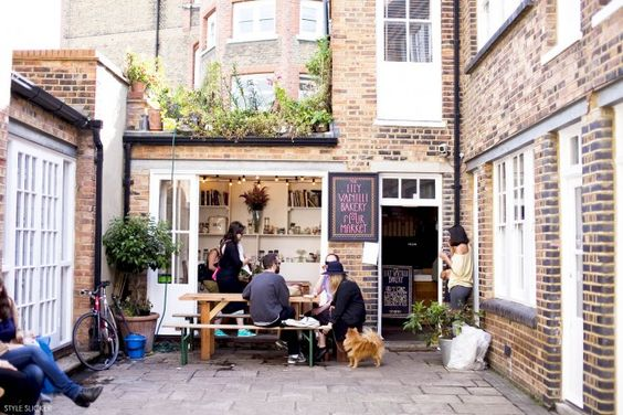 Minimal Bohemian Restaurants via Sycamore Street Press