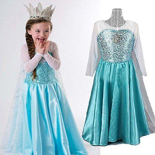 Fun Daisy Girls Snow Queen Elsa Anna Costume Snow Princess Dress Up (US-4, Blue-Elsa) Fun Daisy Movie Series http://www.amazon.com/dp/B00MN3DODC/ref=cm_sw_r_pi_dp_R7p9tb02EM0WR