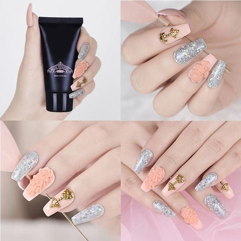 Polygel Nail Extension Kit Live Your Expression In 2020 Nail Extensions Gel Nail Extensions Polygel Nails