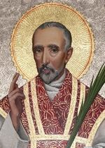 St. John Southworth, Roman Catholic Priest and English Martyr. He was martyred by being hanged, drawn, and quartered at Tyburn. Feastday: June 27