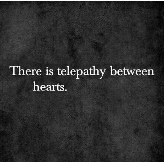 Telepathy between hearts ♡: