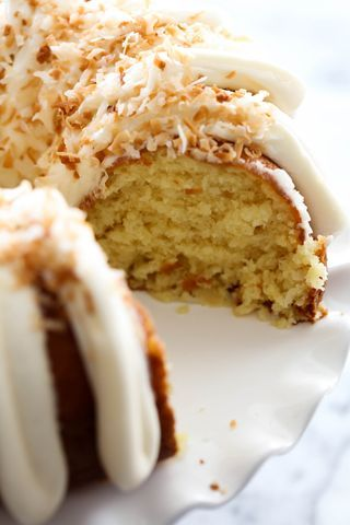 Coconut Bundt Cake: