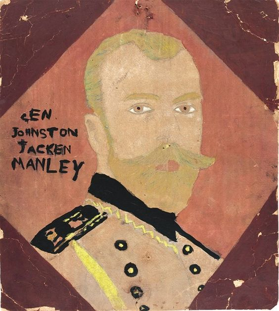 General Johnson Jacken Manley, by Henry Darger