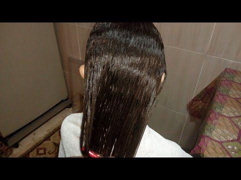 كيراتين طبيعي للشعر عملته لبنتي فرد الشعر وبقي روووعة Youtube Hair Long Hair Styles Hair Styles