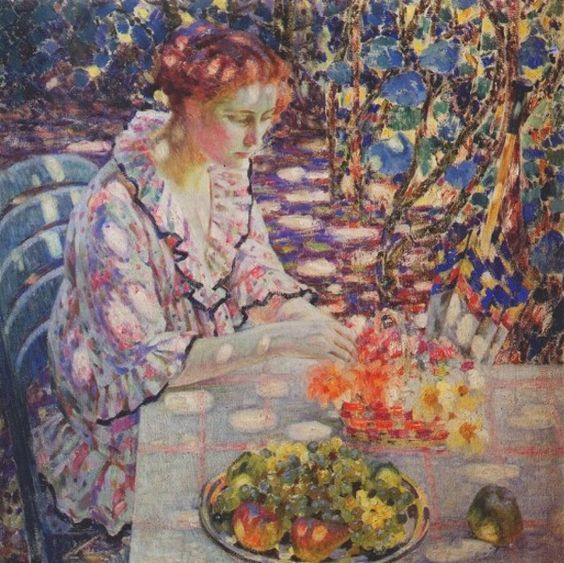 "Louis Ritman - ""Sun Spots"" (Arranging Flowers)"