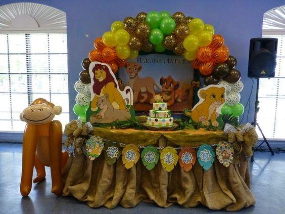 Decoracion Infantil Del Rey Leon ~ explora fiestas infantiles infantiles rey y mucho m?s fiestas