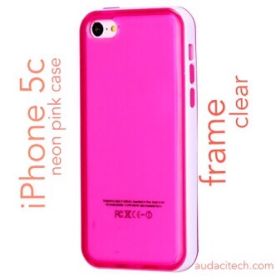 Pink Transparent Color Frame Case for iPhone 5C Clear Transparent Double Color PC Frame TPU Case for iPhone 5C  Compatible with:iPhone 5C Material:TPU+PC Appearance:Transparent Functions:protect your phone from damages and make your phone different Features:Double Color PC Frame, High Clear.X Accessories