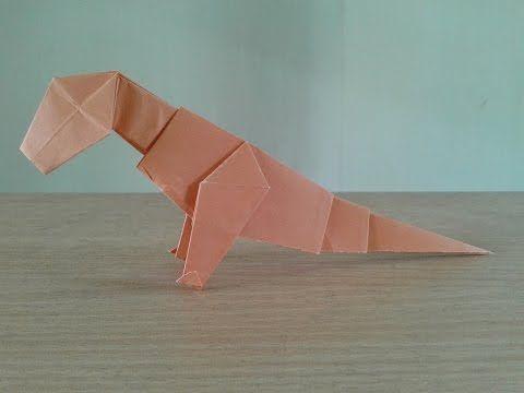 Origami Dinosaur Pteranodon (K. Yamada) Oригами おりがみ Oριγκάμι ... | 360x480