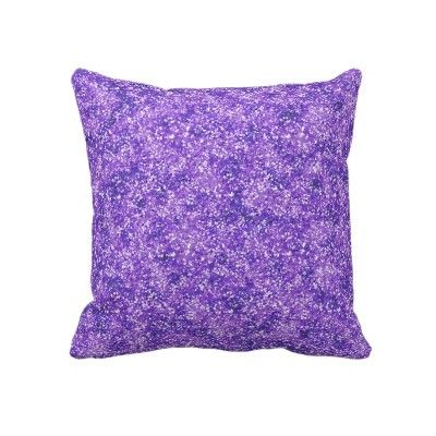 Purple Glitter Pillow $67.45