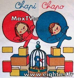 Drap chapi-chapo annees 80
