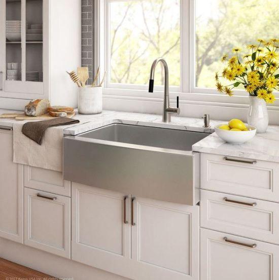 100 Stainless Steel Farmhouse Sinks Farmhouse Sink Kitchen