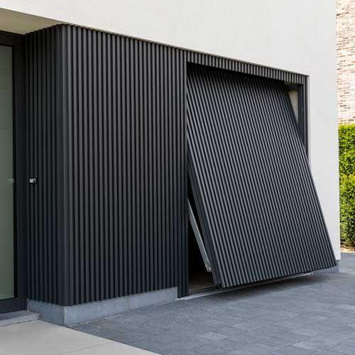 Modern House Finished With Mato 1 I 2020 Garasjeporter Moderne Hus Hus