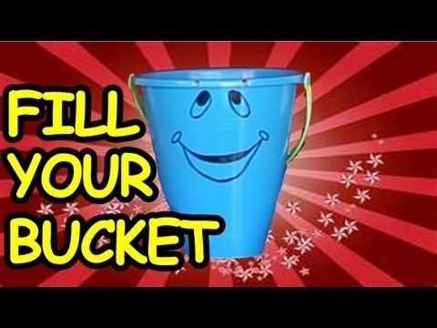 FILL YOUR BUCKET SONG by The Learning Station. Bucket fillers' are those who help without being asked, give hugs and compliments, and generally spread their love and good feelings to others.  It is proven that young children raised to understand the value of kindness are less likely to bully or even become violent.