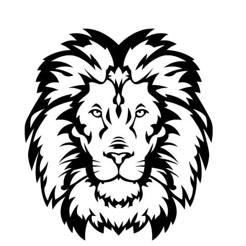 The Forest By Panthera Leo Lion Silhouette Lion Stencil Lion Head Tattoos