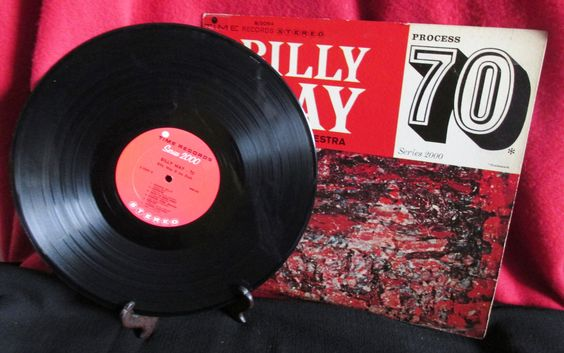 Billy May, Process 70, Series 2000 from Time Records by trackerjax on Etsy
