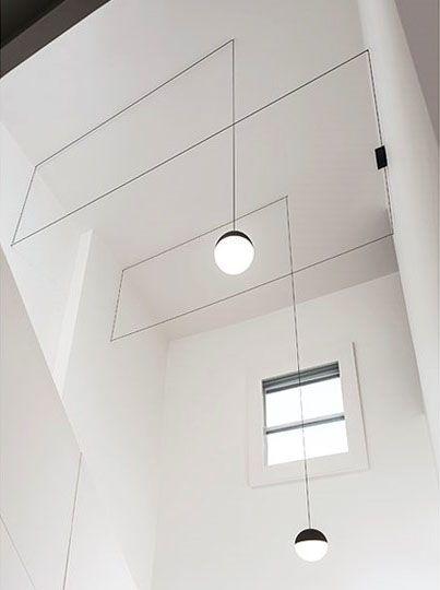 gimmii magazine i string lights van michael anastassiades voor flos meer over deze fabuleuze. Black Bedroom Furniture Sets. Home Design Ideas