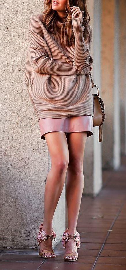 beautiful nude outfit idea