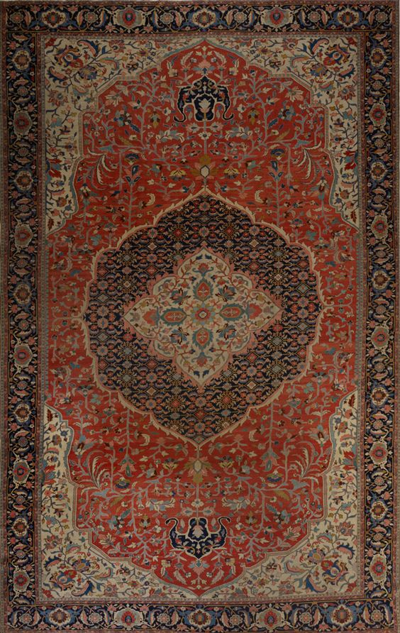 Matt Camron Rugs U0026 Tapestries   Matt Camron Rugs U0026 Tapestries   Antique  Persian Serapi Rug