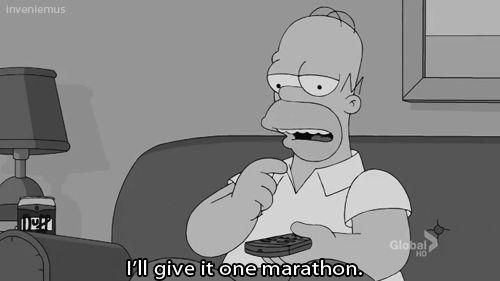 OK, só uma maratona... 48 episódios depois.