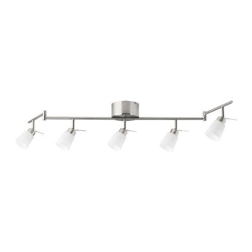TIDIG Plafondspot met 5 spots, vernikkeld IKEA | Ceiling