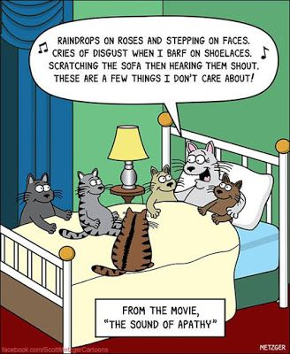 Mystery Fanfare: Cartoon of the Day: Cats
