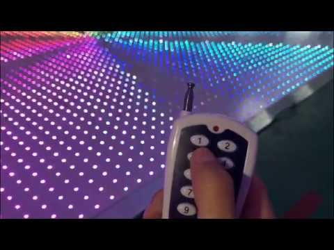 Top Stage Light White Led Wireless Pixel Dance Floor Youtube With Images Portable Dance Floor Dance Floor Lighting Floor Lights