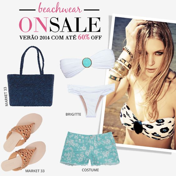 Compre moda com conteúdo, www.oqvestir.com.br #Fashion #Summer #News #Beachwear #Sale #Shop