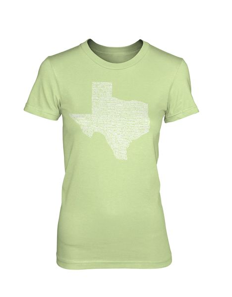 Texas Towns - Women's (5 Color Options)