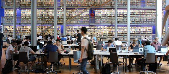 Die Bibliothek erfindet sich als Ort der Arbeit neu.