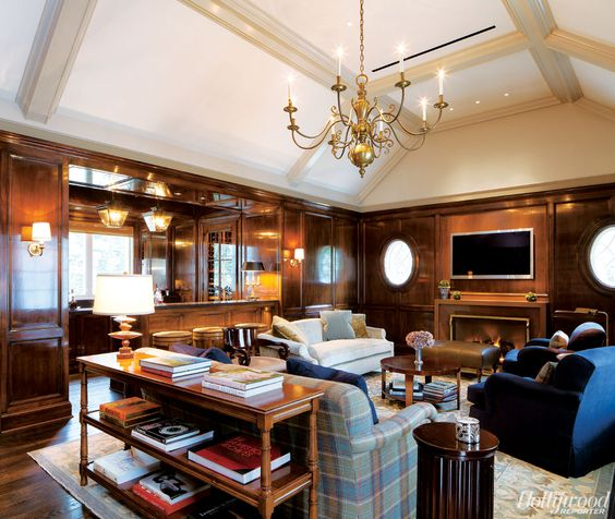 Exclusive Portraits of Leslie Moonves' Lavish Home Theater