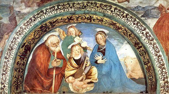 Ferrari Gaudenzio, Natività, Cappella Madonna di Loreto - Italia Meravigliosa