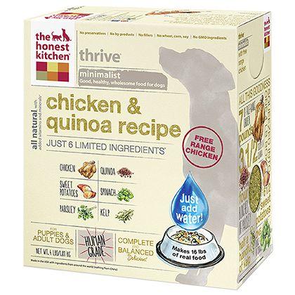 The Honest Kitchen Thrive Chicken Quinoa Dehydrated Dog Food