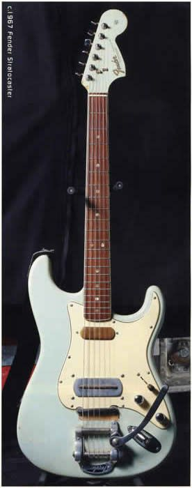 Ry Cooder's modified 1967 Fender Stratocaster