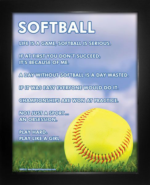 Softball sayings