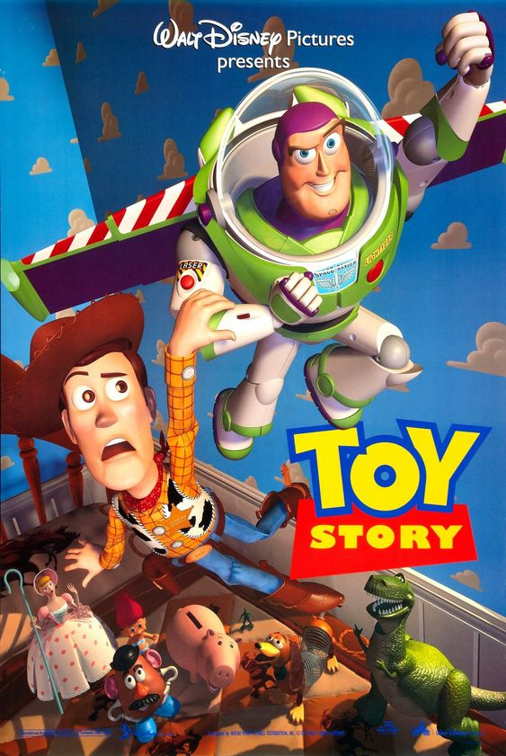 Título: Toy Story - Um Mundo de Aventuras Título original: Toy Story Diretor: John Lasseter Produtora: Walt Disney Pictures e Pixar Animation Studios Lançamento: 1995   || Fonte: http://en.wikipedia.org/wiki/Toy_Story