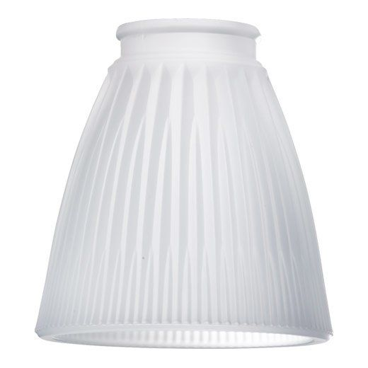 Frosted Ribbed 4 25 Glass Bell Pendant Shade Pendant Light