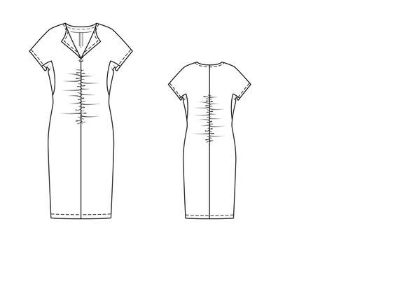 Znalezione obrazy dla zapytania sukienka 121 burda 6/2015
