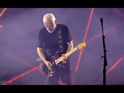 David Gilmour Comfortably Numb Live Pompeii 2016 Literally