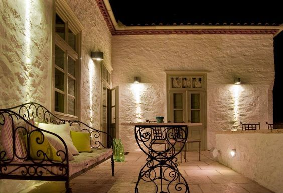 """""""Cottomatae Boutique Hotel"""" in Hydra: Boutique Hotels, Island Style, Outdoor Lighting, Hydra Heavenly, Greece ๑ ๑, Greek Islands, Cottomatae Boutique, Outdoors I Love"""