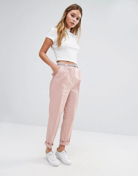 minimal doesn't necessarily need to be monochromatic does it? i feel like these pants are super flexible