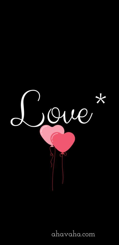 Ahavah Cute Black Wallpaper True Love Wallpaper Black Wallpaper Iphone