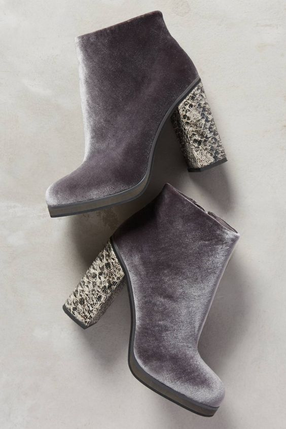 Charming Velvet Suede Boots