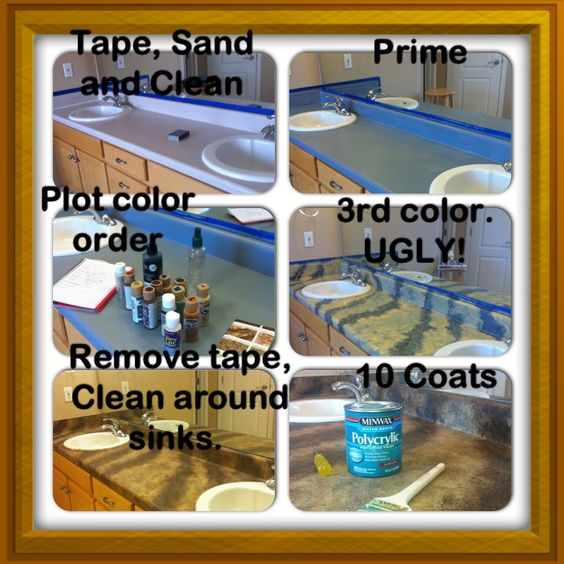 Painting Countertops Home Pinterest Painting countertops ...