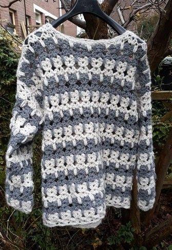 Leuke kanten trui Patroin is te vunden op lindevrouws web