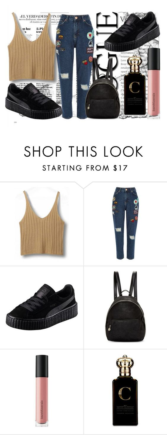 """FfV"" by vickyyates on Polyvore featuring River Island, Puma, STELLA McCARTNEY, Bare Escentuals and Clive Christian"