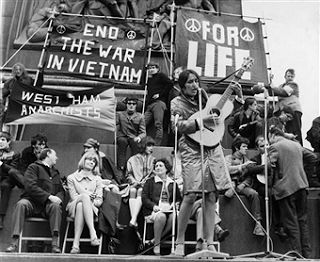 vietnam war protest and the music To mark the anniversary of the war that changed america, i am d  the most  famous protest song ever, an iconic part of the vietnam era  died last year at  the age of ninety-four, was one of the all-time greats in folk music.